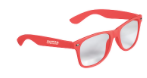 Buzztag :: Pantone Living Coral :: Promotional Products :: Wayfarer Sunglasses :: Bend, Oregon