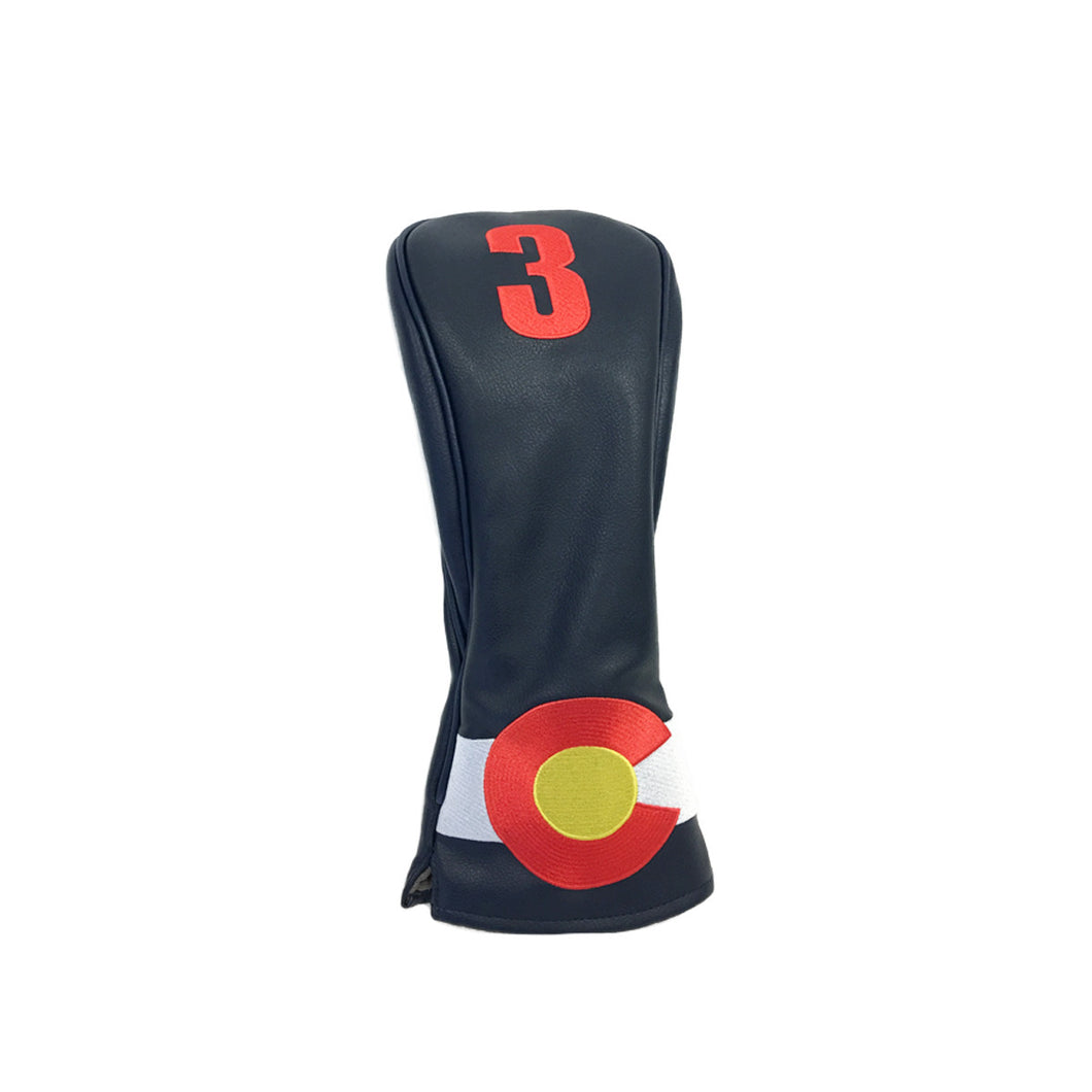 Colorado State Flag Fairway Wood Cover (3)