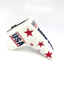 USA Eagle Putter Cover (White)