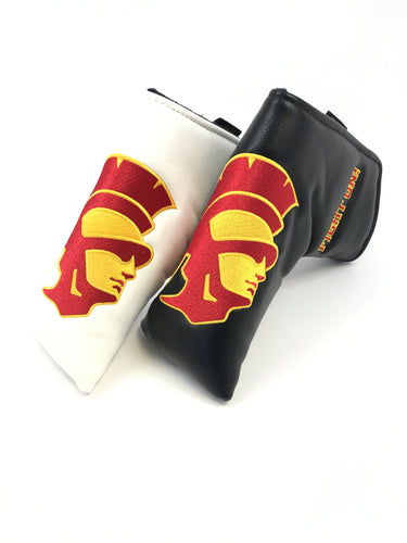 USC Trojan Logo  Putter Head Cover (Black or White)