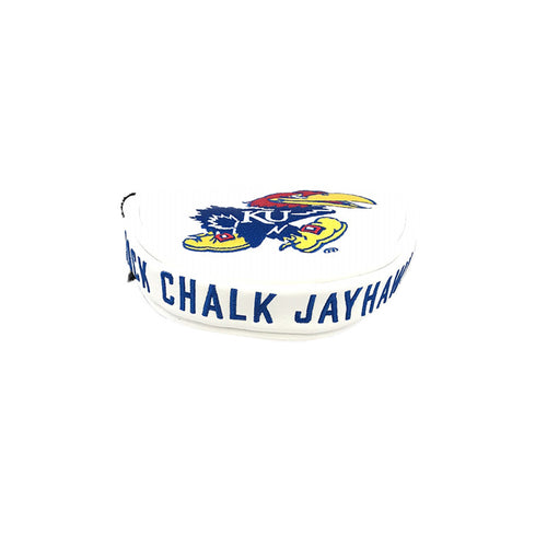 University of Kansas Mallet Putter Cover (White)