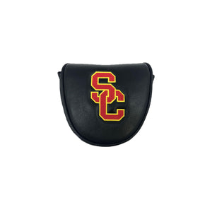 USC mallet putter cover (black)