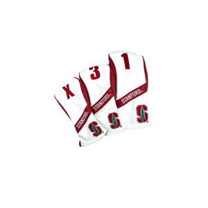 Stanford University® Heritage Wood Covers (White and Red)