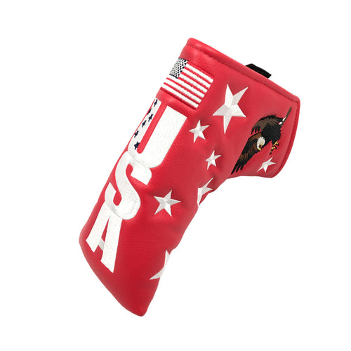 USA Eagle Putter Cover (RED)