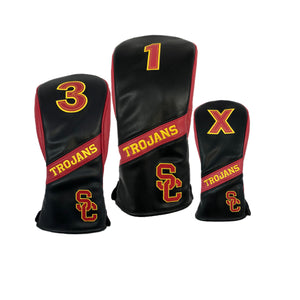 USC Head Cover - Black  (New Style)