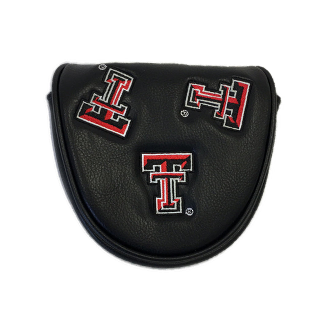Texas Tech Mallet Putter Cover (black)