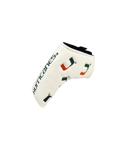 University of Miami Blade putter cover