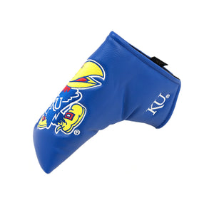 University of Kansas Blade Putter Cover (Blue)