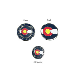 Colorado State Flag Duo Ball Marker