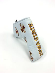 Official Iowa State blade putter cover (White or Black)