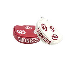 University of Oklahoma Mallet Putter Cover (Red or White)