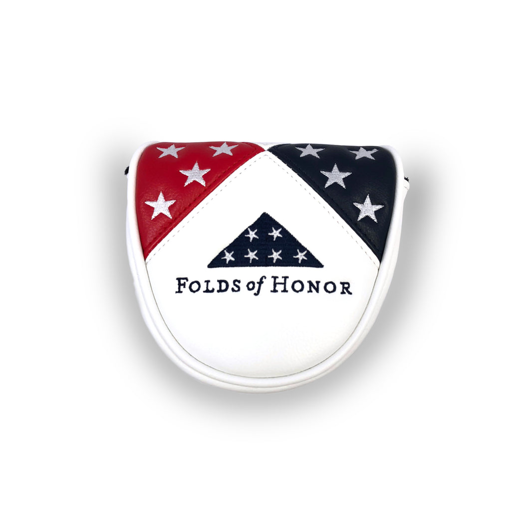 Folds of Honor Mallet Putter Cover