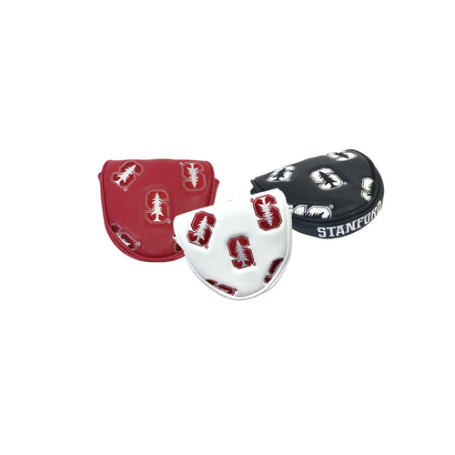 Stanford University Mallet Putter Covers (Red, White, Black)
