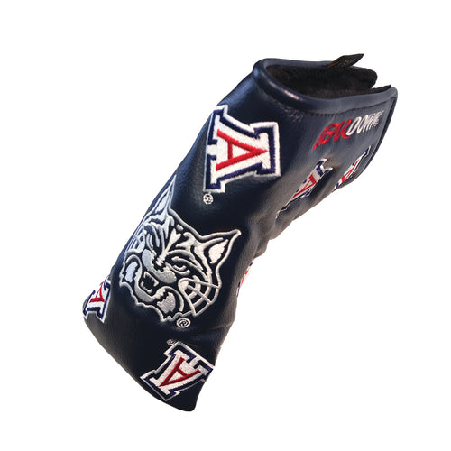University of Arizona Blade Putter Cover (Navy)