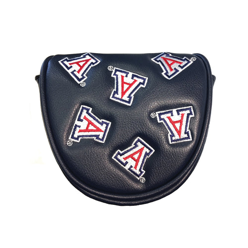 University of Arizona Mallet Putter Cover Navy)