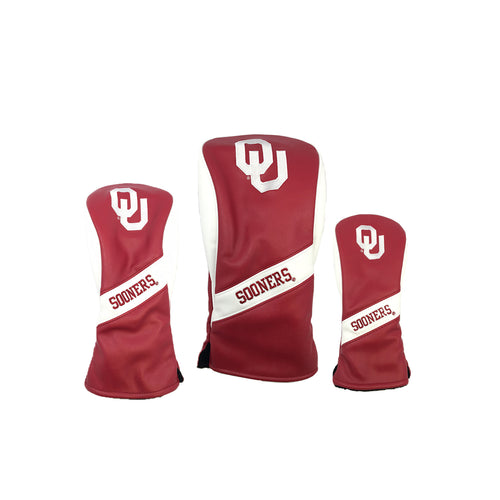 Oklahoma University Heratige Wood Covers (Red)