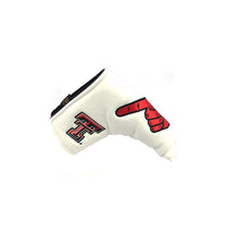 "Texas Tech University ""Guns Up"" Blade Putter Cover (White)"