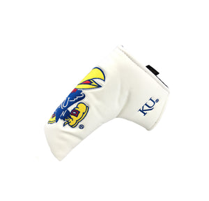 University of Kansas Blade Putter Cover (White)