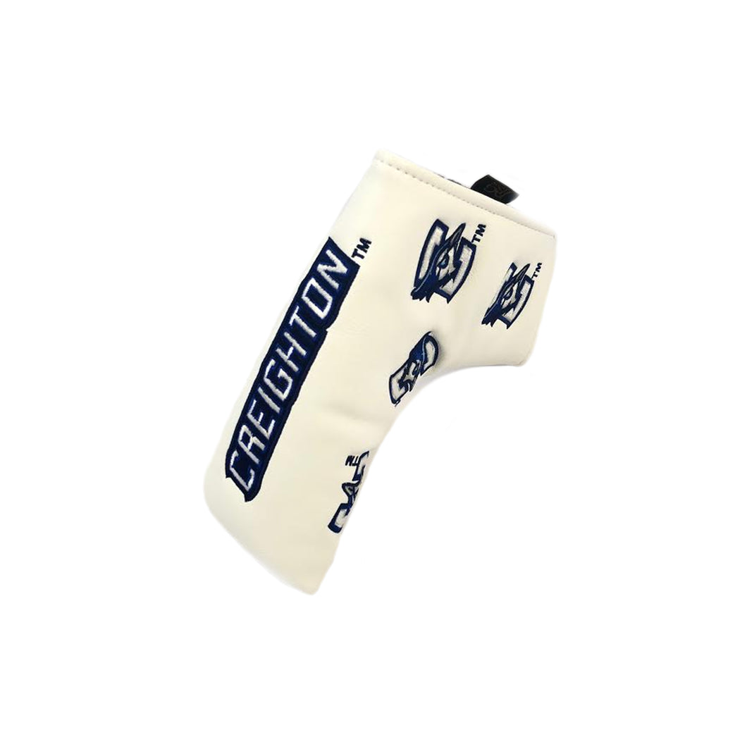 Creighton University Blade Putter Cover (White)