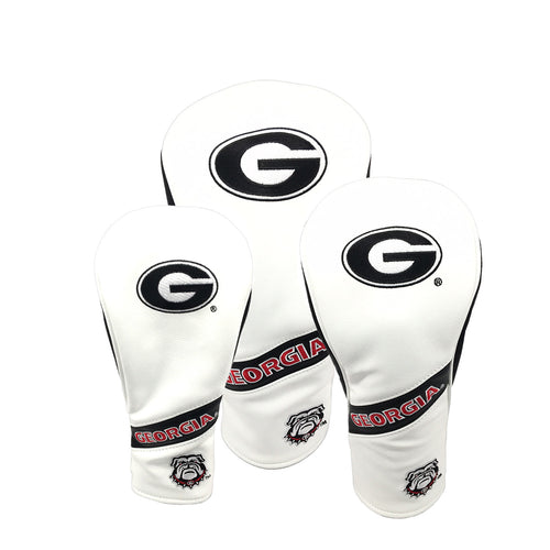 University of Georgia Heritage Wood Covers (White)