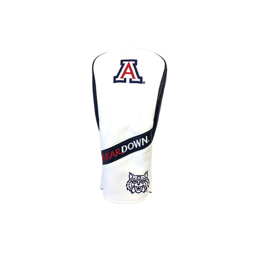 University of Arizona Wood Covers (White)