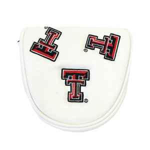 Texas Tech Mallet Putter Cover (White)