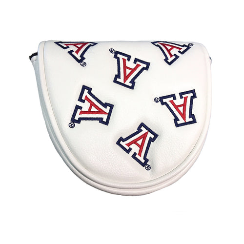 University of Arizona Mallet Putter Cover (White)