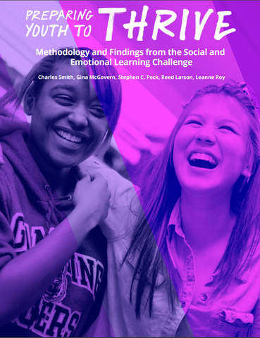 Preparing Youth to Thrive: Methodology and Findings from the SEL Challenge