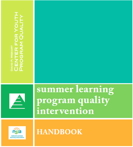Summer Learning Program Quality Intervention Handbook