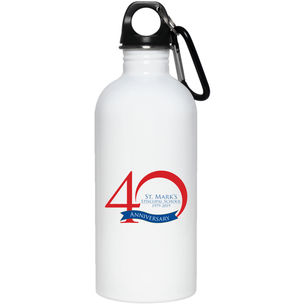 40th Anniversary 20oz. Stainless Steel Water Bottle