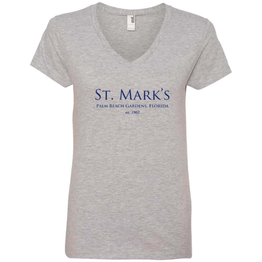 Ladies' V-Neck Tee - T-Shirts - 2