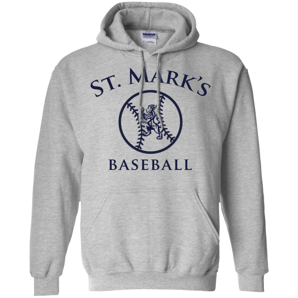 Baseball Pullover Hoodie (Adult Sizes)