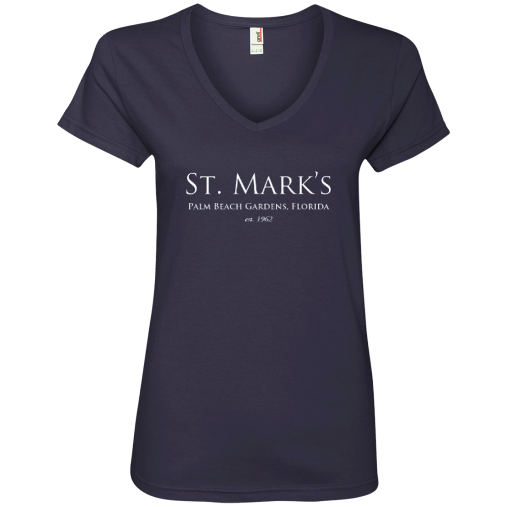 Ladies' V-Neck Tee - T-Shirts