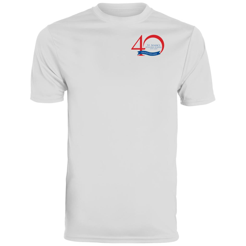 40th Anniversary 1, Uniform Approved, Wicking T-Shirt (Youth Sizes)