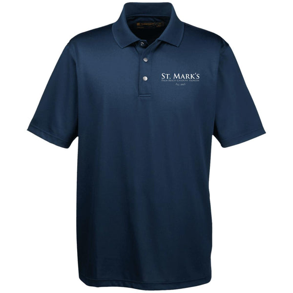 Harriton Men's Snap Placket Performance Polo