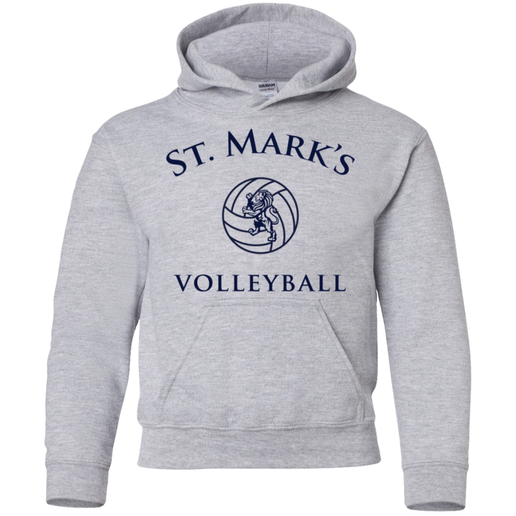 Volleyball Pullover Hoodie (Youth Sizes)