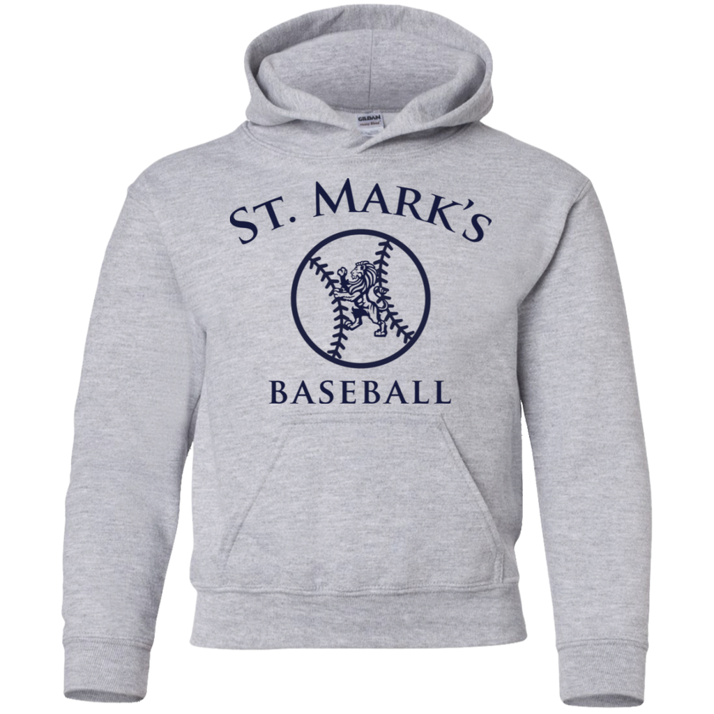 Baseball Pullover Hoodie (Youth Sizes)