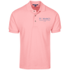 Cotton Pique Knit Polo - Polo Shirts - 5