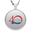 40th Anniversary 3, Circle Necklace