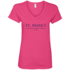 Ladies' V-Neck Tee - T-Shirts - 3