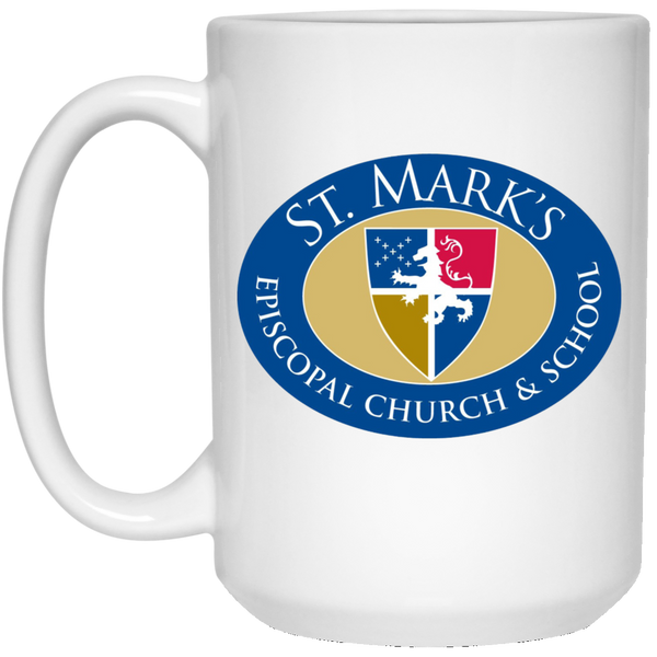 Mug-15 oz. White Mug St. Mark's