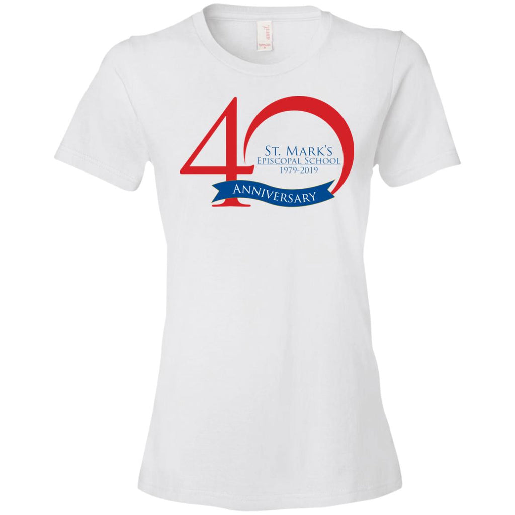 40th Anniversary 5, Ladies' Lightweight T-Shirt
