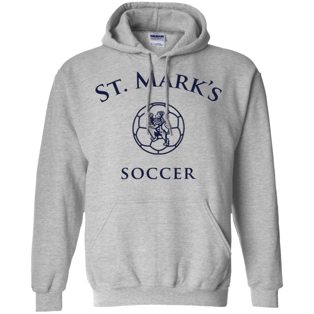 Soccer Pullover Hoodie (Adult Sizes)