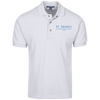 Cotton Pique Knit Polo - Polo Shirts - 1