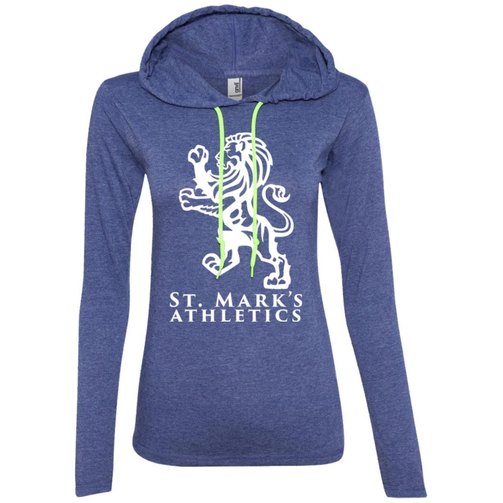 St. Mark's Athletics, Ladies' Long Sleeve T-Shirt Hoodie