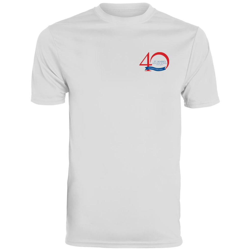 40th Anniversary 5, Uniform Approved, Wicking T-Shirt (Adult Sizes)