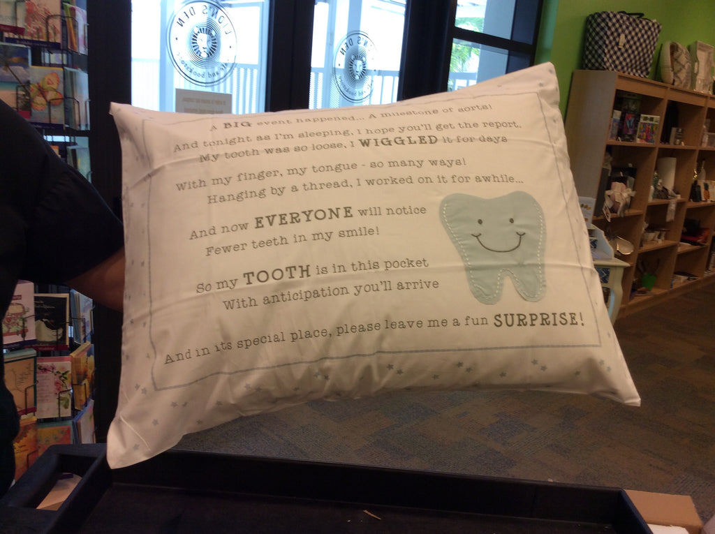 Tooth Fairy Pillow-Blue