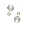 Double Pearl Earring in Classic Ivory at Experimental Jewellery Club @experimentaljewelleryclub