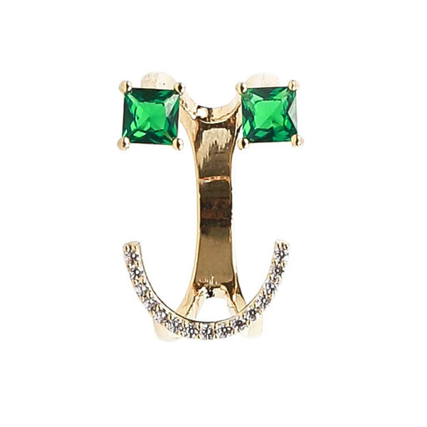 Classic Emoji Ring in Green at Experimental Jewellery Club @experimentaljewelleryclub