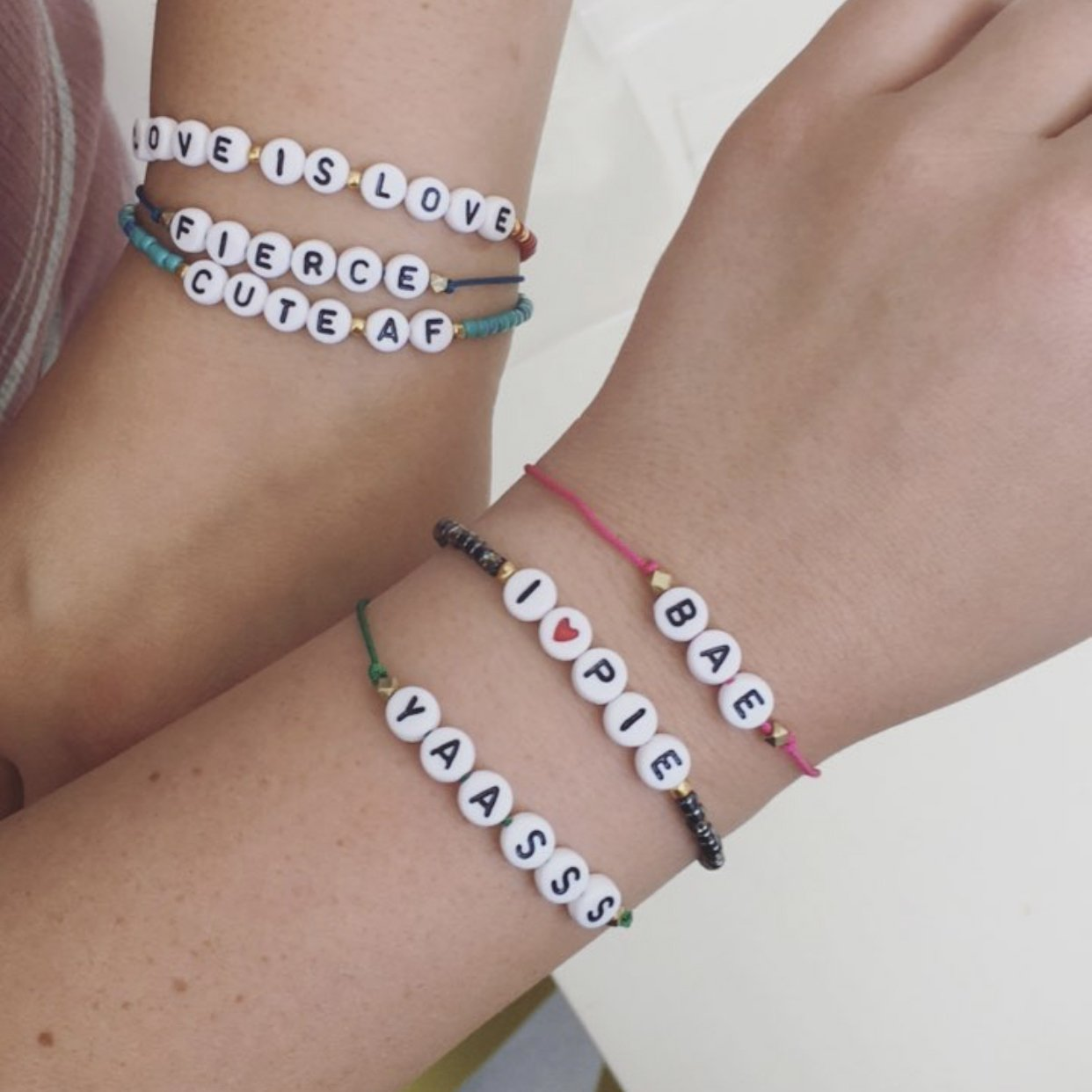 Introducing Personalized Bracelets